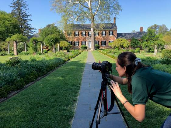 First video production project with OCLP at Chatham Manor in Fredericksburg, VA.